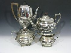 5 PC. STERLING KENTSHIRE TEA & COFFEE SERVICE : Lot 41
