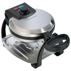 The Hamilton Beach 26010 is a flip style belgian waffle maker that makes delicious breakfast and waffle.
