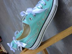 Vow renewal in Converse-my husbands favorite shoe!