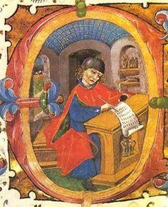 Don Íñigo López de Mendoza (Marquis of Santillana), Castilian politician and poet, was born on this day in 1398.