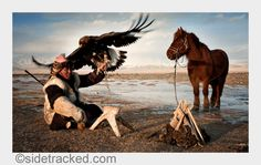 ⚡️Blitzlichter⚡️ Travel photographer Simon Morris heads to the Bayan Olgii Province of Western Mongolia live with the Eagle Hunters