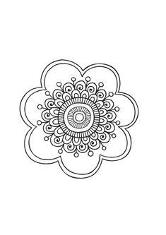 STCI Coloriage Pour Adultes Et Enfants Mandalas Coloring Pages To PrintMandala