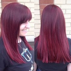 This summer i 39 m going red on pinterest bright red hair for Nick s hair salon
