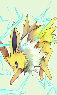 Awwn...Jolteon is so AWESOME ^_^ #pokemon #eeveelutions