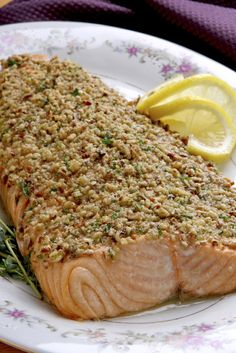 Macadamia Nut-Crusted Salmon   Udi's® Gluten Free