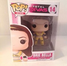 Pop! by Funko WWE Brie Bella #14 2015 Total Divas Collection #Funko