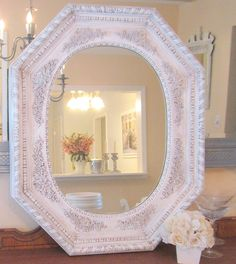 New powder room mirror!!!