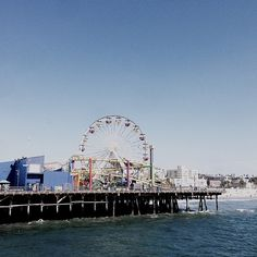 Santa Monica views. | One Turn Kill