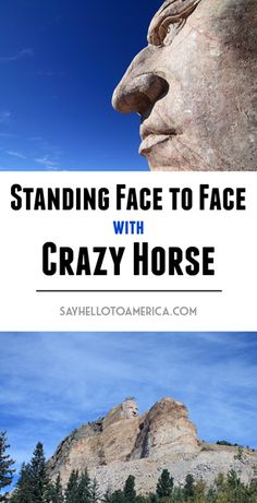 The Crazy Horse Volksmarch is an organized hike that allows visitors to make the 6.2-mile roundtrip journey to stand on the arm of the mountain carving in South Dakota. Located near Rapid City, the Volksmarch happens in June & September. Click to see more up close views of Crazy Horse!