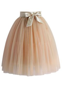 Amore Tulle Midi Skirt in Ice Orange - Skirt - Bottoms - Retro, Indie and Unique Fashion