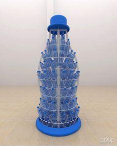 Mineral water display: промышленный дизайн, модернизм, мебель офисная #industrialdesign #modernism #officefurniture