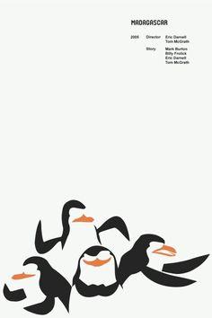 Madagascar Minimalist Movie Poster