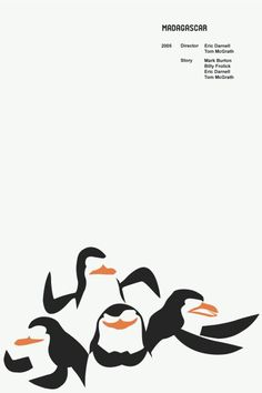 Madagascar Minimalist Movie Poster