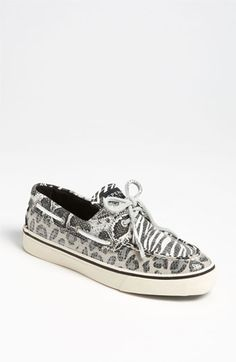 Perfect for Jean Fridays at work  Sperry Top-Sider® 'Bahama' Sequined Boat Shoe available at #Nordstrom