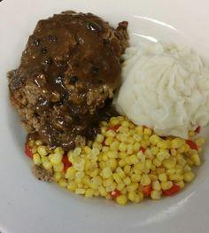 I've been hungry for meatloaf lately! Revere's Wells Street Tavern Meatloaf - JSOnline