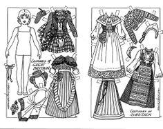 Costumes of Great Britain & Sweden: Children Around the World paper dolls by Charles Ventura