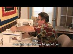 Utilizes your own sewing machine for an affordable version of a long arm machine quilting setup. Quilting bargain of the century Frame kit makes a complete 1...