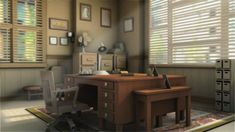 detective office (modeling) by LeeMeiFong.deviantart.com on @deviantART