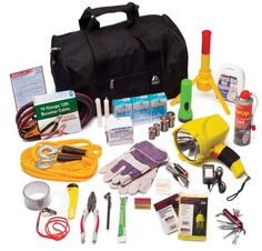 What to include in an auto emergency kit