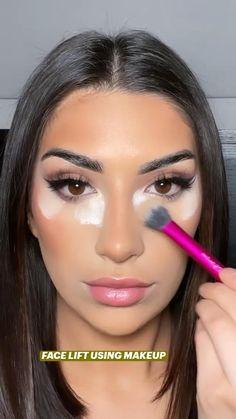 Creative Eye Makeup, Colorful Eye Makeup, Simple Makeup, Natural Makeup, Flawless Makeup, Gorgeous Makeup, Pretty Makeup, Skin Makeup, Maquillage Yeux Cut Crease