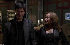 John & Teyla