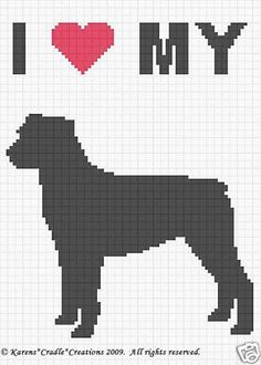 Crochet-Pattern-Patterns-I-LOVE-MY-ROTTWEILER