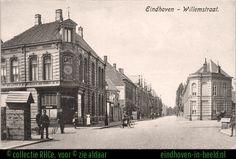 Café de Posthoorn met wachtpost op de hoek.