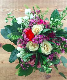 6 Valentine Flower Arrangement Ideas From the Pros | You don't have to spend a fortune on a custom bouquet to fill your table with seasonal blooms.