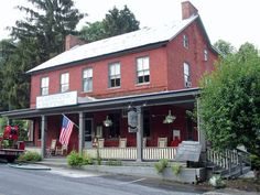 """The Cashtown Inn. """"Most ghostly activity in Gettysburg happens during the summer months due to the timing of the actual battle on July 1, 2, & 3 1863."""""""