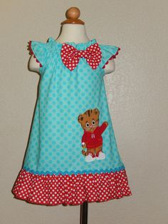 Daniel Tiger's Neighborhood   Flutter Sleeves by Just4Princess