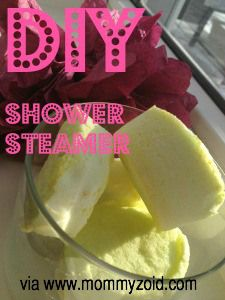 DIY: Lush Shower Steamer Hack via www.mommyzoid.ca
