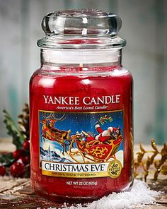 Yankee Candle Christmas Eve Jar | The Brilliant Gift Shop