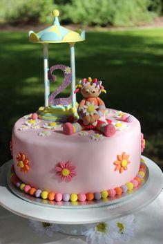 Upsy Daisy - In The Night Garden Birthday Party Ideas Garden Birthday Cake, Second Birthday Cakes, Birthday Cake Girls, Birthday Parties, Birthday Ideas, Pretty Cakes, Cute Cakes, Bithday Cake, Daisy Cakes