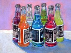 Jones Soda - in pastels.