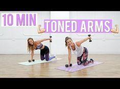 Bye Bye BAT WINGS   Tricep & Arm Workout - YouTube