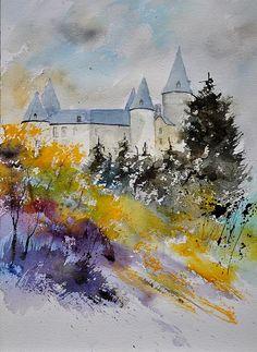 watercolor -- Pol Ledent