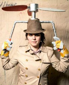 pretty epic--Inspector Gadget Halloween Costume