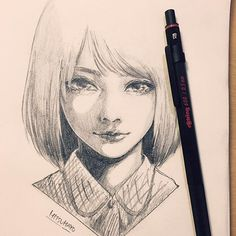 Mitsumayo awesome art art sketches, anime art ve anime sketch. Anime Drawings Sketches, Anime Sketch, Manga Drawing, Manga Art, Anime Art, Wie Zeichnet Man Manga, Doodle Characters, Anime Kunst, Pretty Art