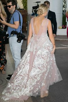 Tallia Storm is spotted during the 70th annual Cannes Film Festival at on May 19 2017 in Cannes France