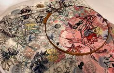 Interview with Textile Artist, Anna Torma - Jung Katz Paper Embroidery, Machine Embroidery, Embroidery Ideas, Creative Textiles, Thread Art, Textile Artists, Types Of Art, Fabric Art, Paper Dolls