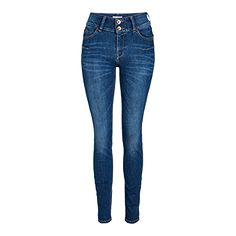 LILLY Shaping Regular Jeans Blå