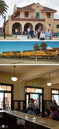 Kelso Depot Visitor Center - Mohave National Preserve: Outdoor activities as well as indoor exhibits