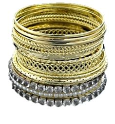 Checkout our #awesome product Fashion Imitation Gold Multi Line Bangles / Bracelet - Fashion Imitation Gold Multi Line Bangles / Bracelet - Price: $45.00. Buy now at http://www.arrascreations.com/fashion-imitation-gold-multi-line-bangles-bracelet.html