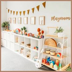 Kids Playroom Design Ideas and techniques used in bedroom and playroom design are the primary tools used to create kids' playroom. These kinds of playroom work on design of the entire playroom, whether it is small or large. The design… Continue Reading → Montessori Playroom, Toddler Playroom, Children Playroom, Toddler Toys, Ikea Kids Playroom, Children Storage, Colorful Playroom, Children Toys, Play Room For Kids