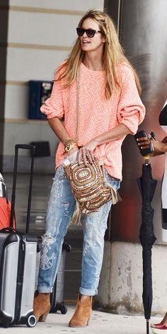 Elle Macpherson Street Style & more details Elle Macpherson, Boho Chic, Bohemian Mode, Bohemian Style, Fashion Mode, Boho Fashion, Fashion Trends, Net Fashion, Fashion Inspiration