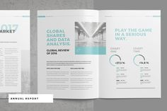 Annual Report and Company ProfileAnnual Report. This is a modern and powerful template for a Report. Perfect for PR agency or other business promotion. 32 pages possibility of creating many unique spreads.Other items in this Theme:FEATURESAdobe In…