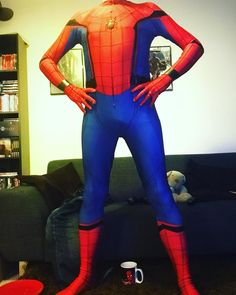 Time to suit up! Suit by @Zentai Zone #spiderman #spidey #suitup #costume #cosplay #cosplayer #marvel #marvelcomics #marvelcosplay #spidermanhomecoming #tomholland #peterparker #webhead #wallcrawler #avengers #tuesday #instagay #gay #geek #gaynerd #stanlee