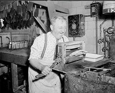 Elmer's task at hand was pressing - Sheila Kollasch http://www.globalmuseum.org #captioncontest #museum #globalmuseum #humor #humor