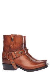 Bruine Sendra boots 11070 enkelaarsjes