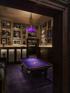 Game On.  Billiards Room at The Clocktower   The New York EDITION